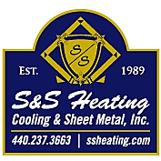 S&S Heating Cooling & Sheet Metal Logo