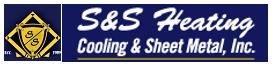 S&S Heating Cooling & Sheet Metal Logo