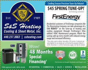 Current Specials S&S Heating Cooling Medina